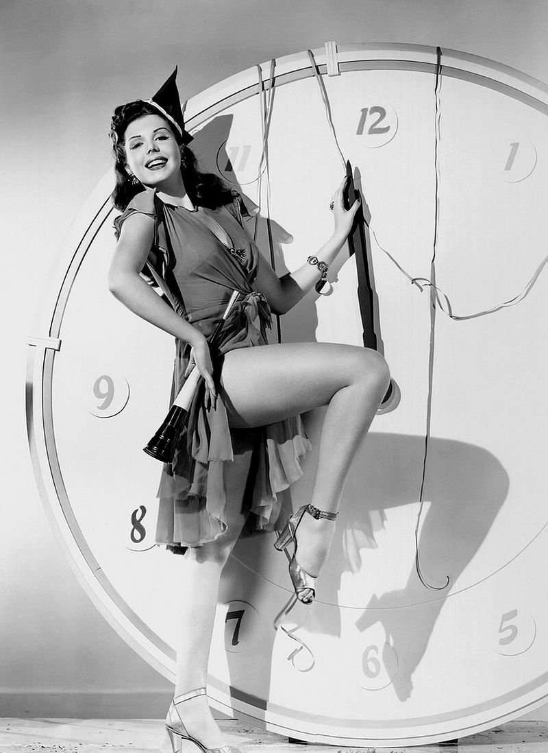 Ann Miller on New Year's Eve