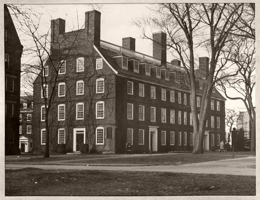 Massachusetts Hall, 1855-65