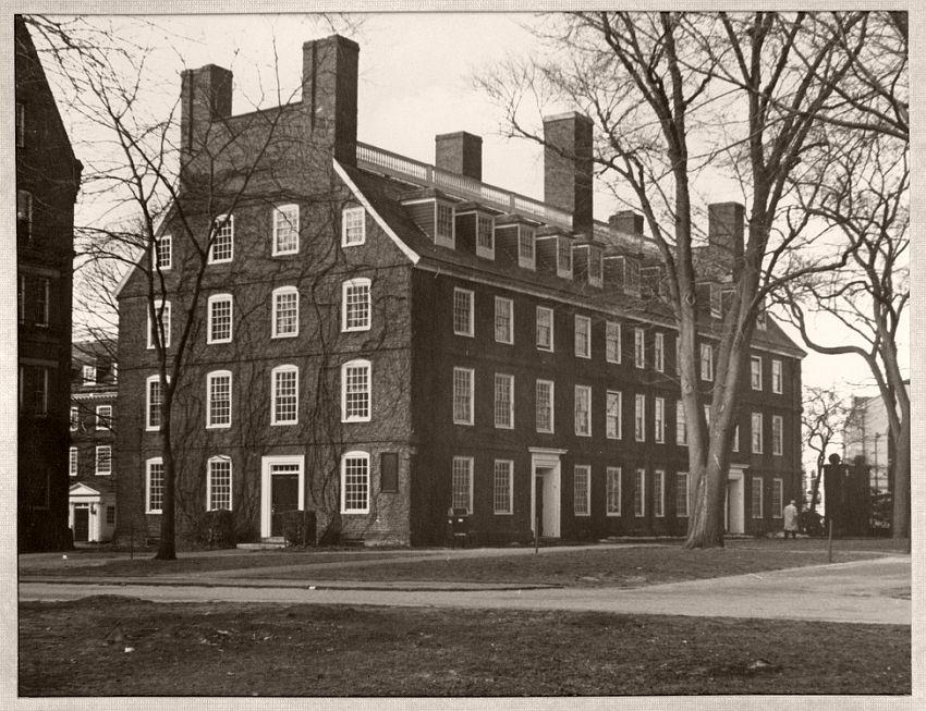 Massachusetts Hall, 1855-65