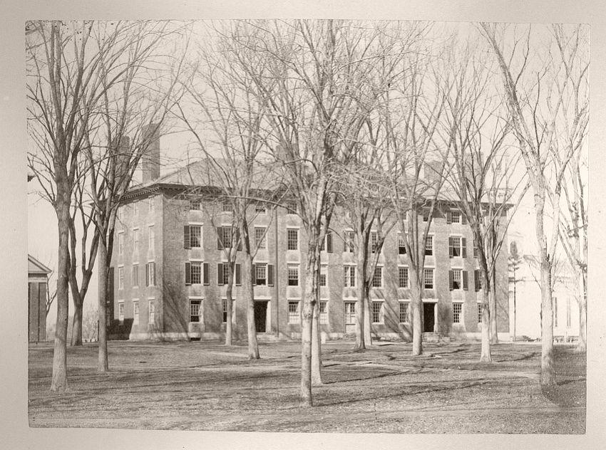 Stoughton Hall, 1855-65