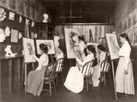 Vintage: U.S. Classroom Scenes (late 19th Century)