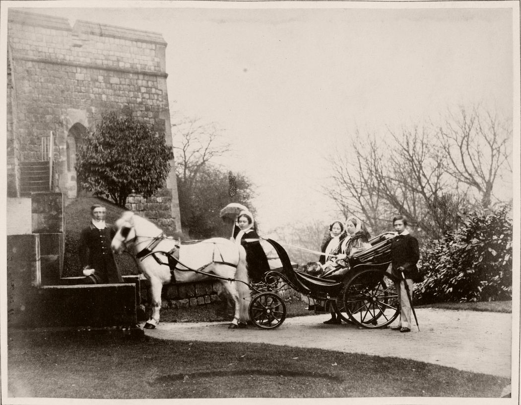 Her Majesty the Queen, The Prince of Wales, Princess Royal and Princess Alice, 1857