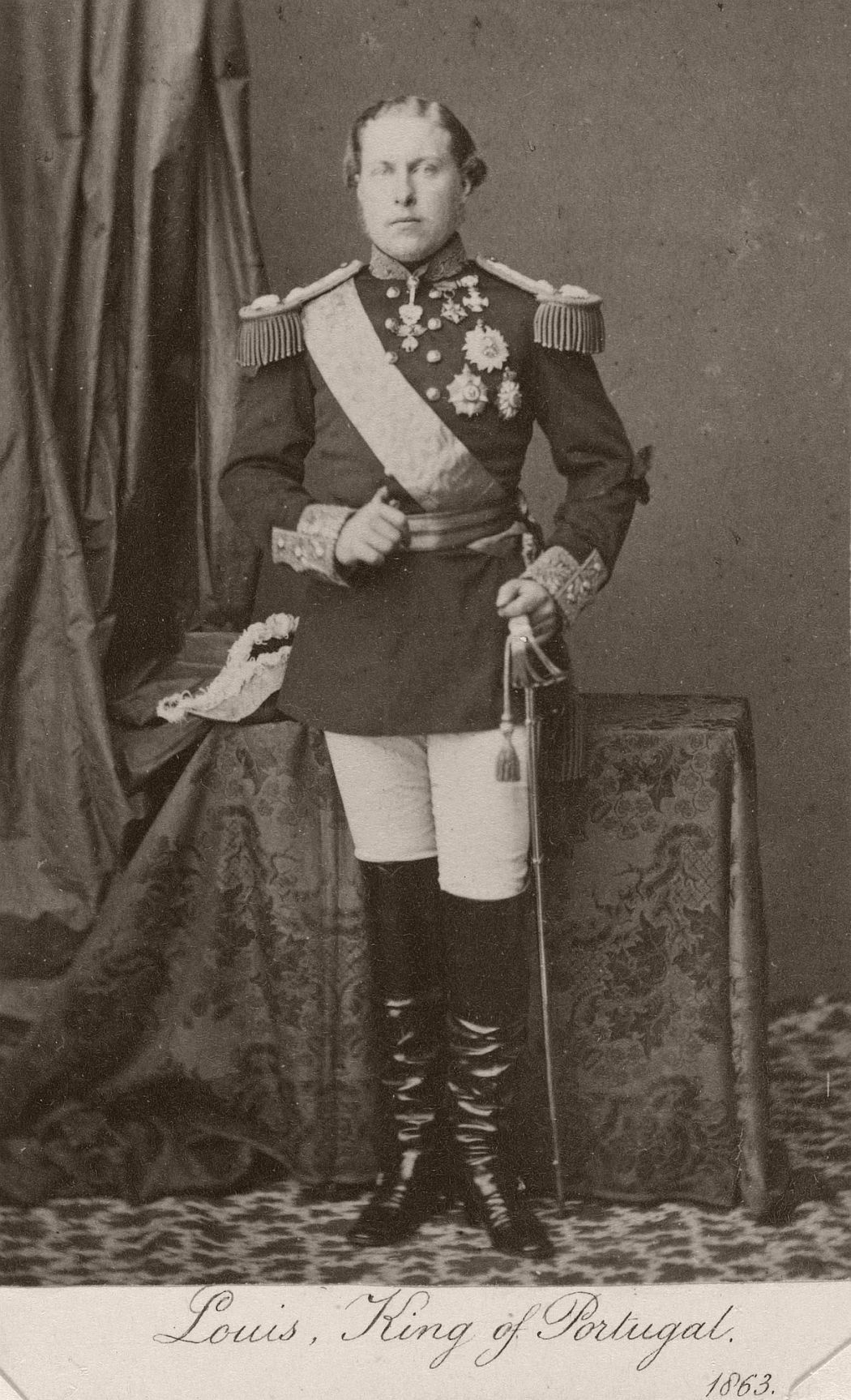 Louis I, King of Portugal (1863), by William Bambridge