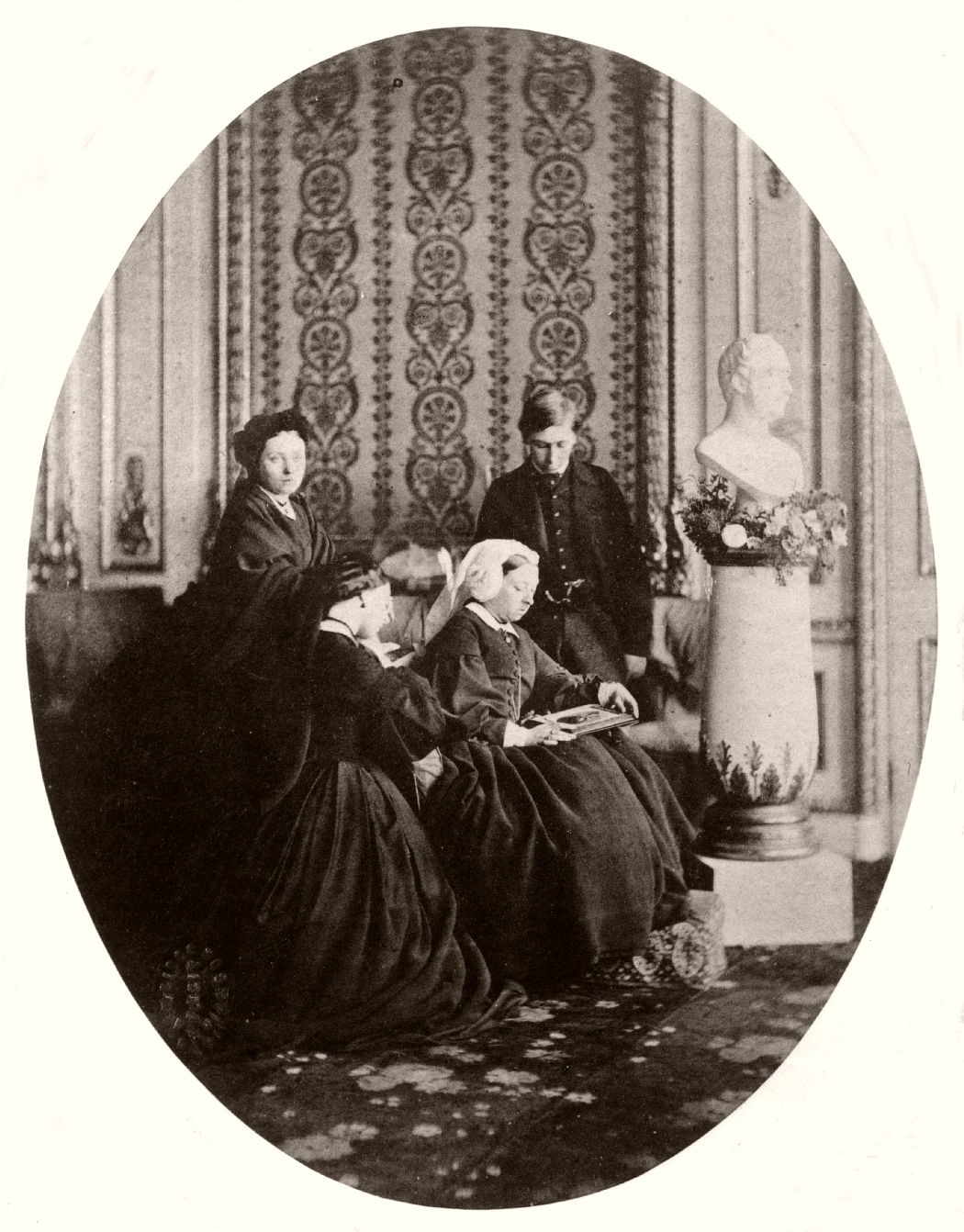 Royal mourning group, 1862, by William Bambridge