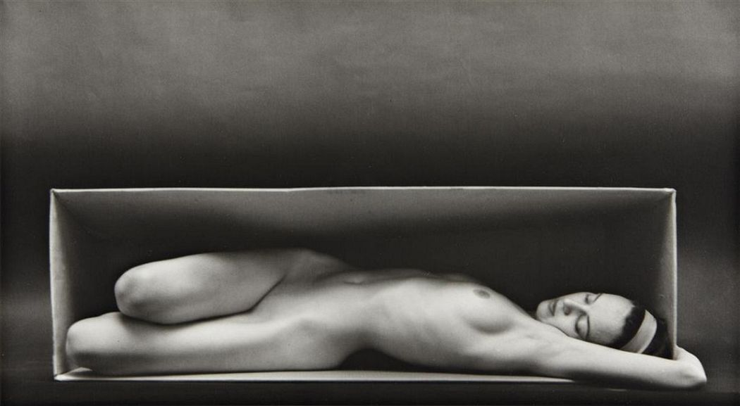 Ruth Bernhard, In the Box, Horizontal, 1962