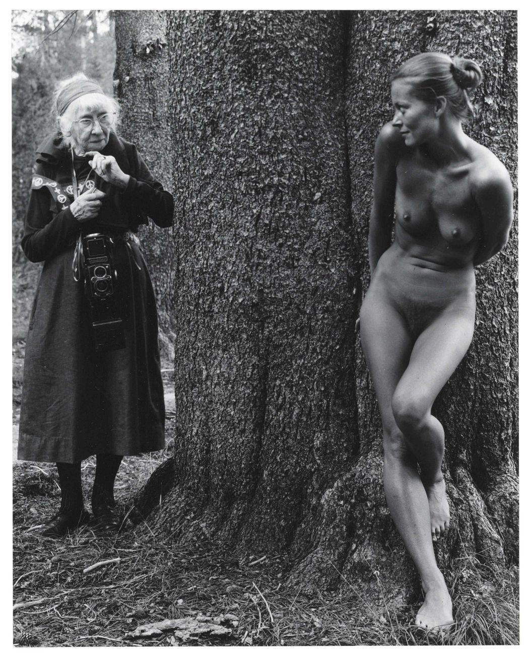 Judy Dater, Imogen and Twinka at Yosemite, 1974