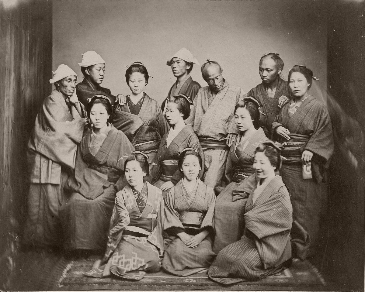 Japanese Family, 1862