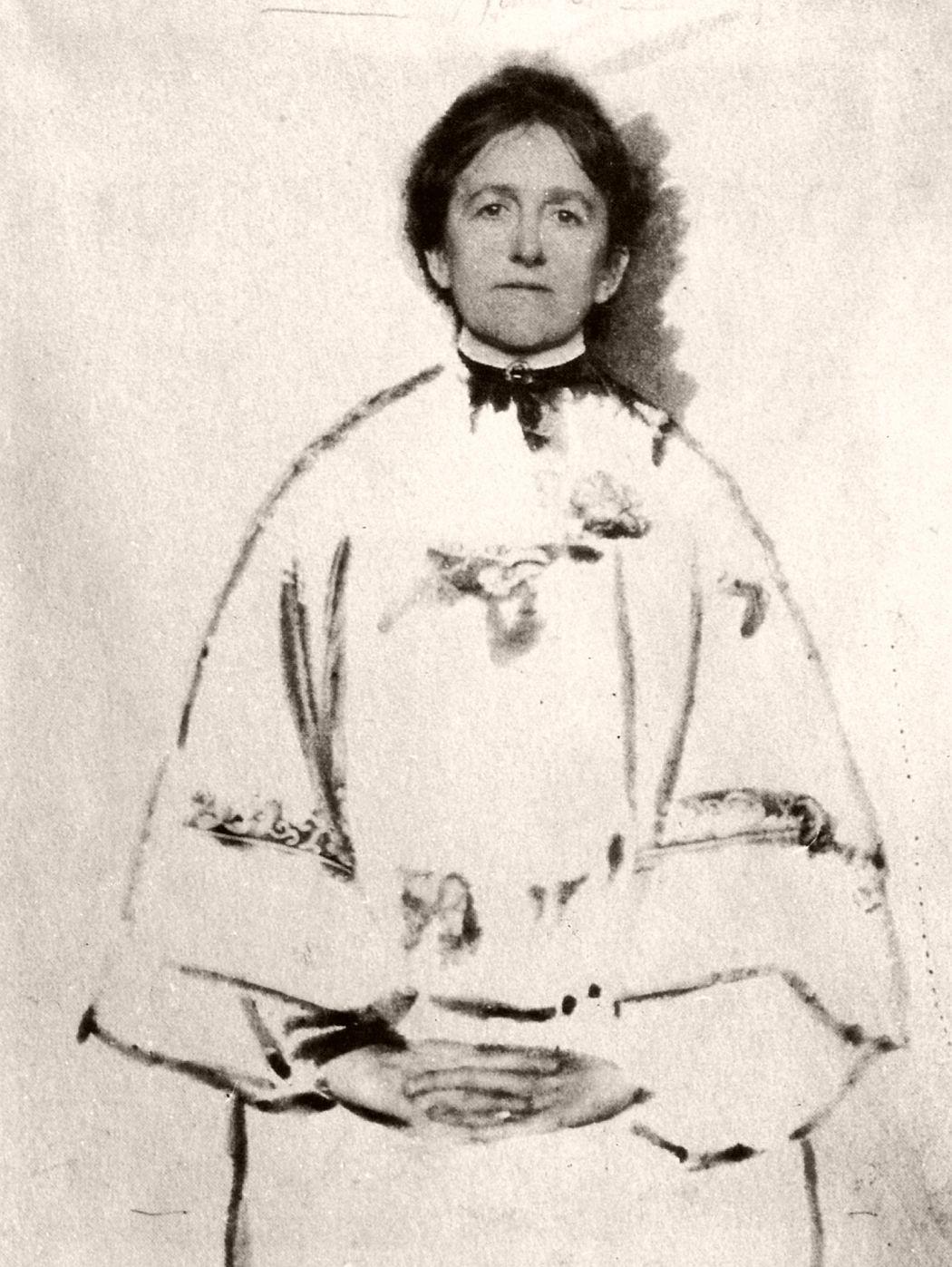Portrait of the Photographer, manipulated self-portrait by Gertrude Käsebier