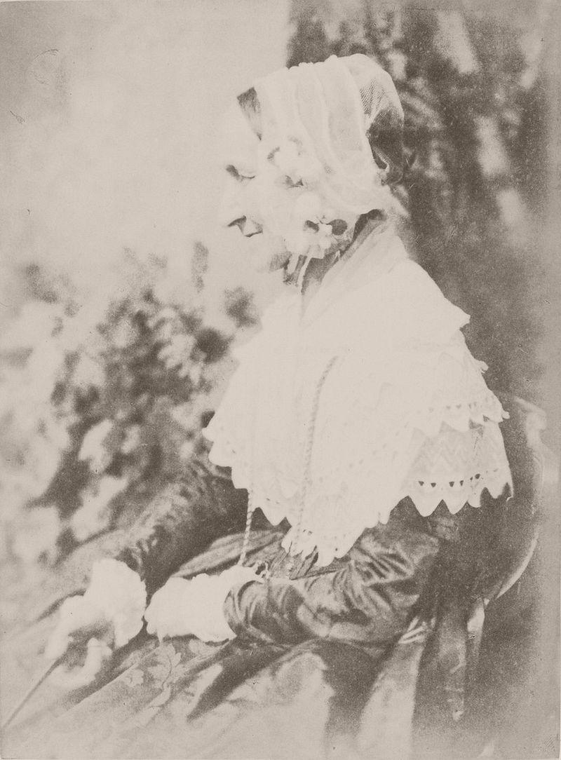 Mrs Anne (Palgrave) Rigby, 1843