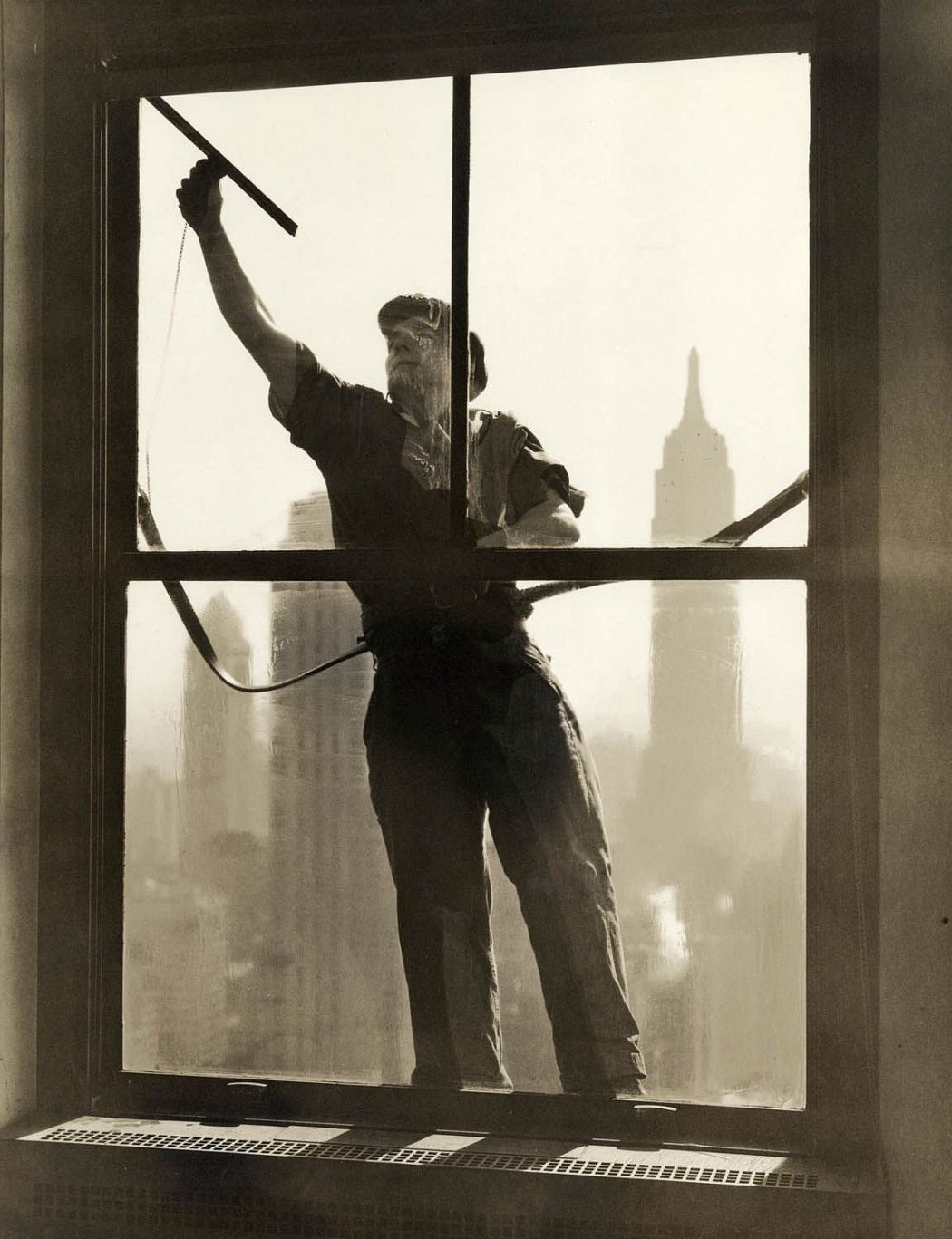 Window Washer, 1936