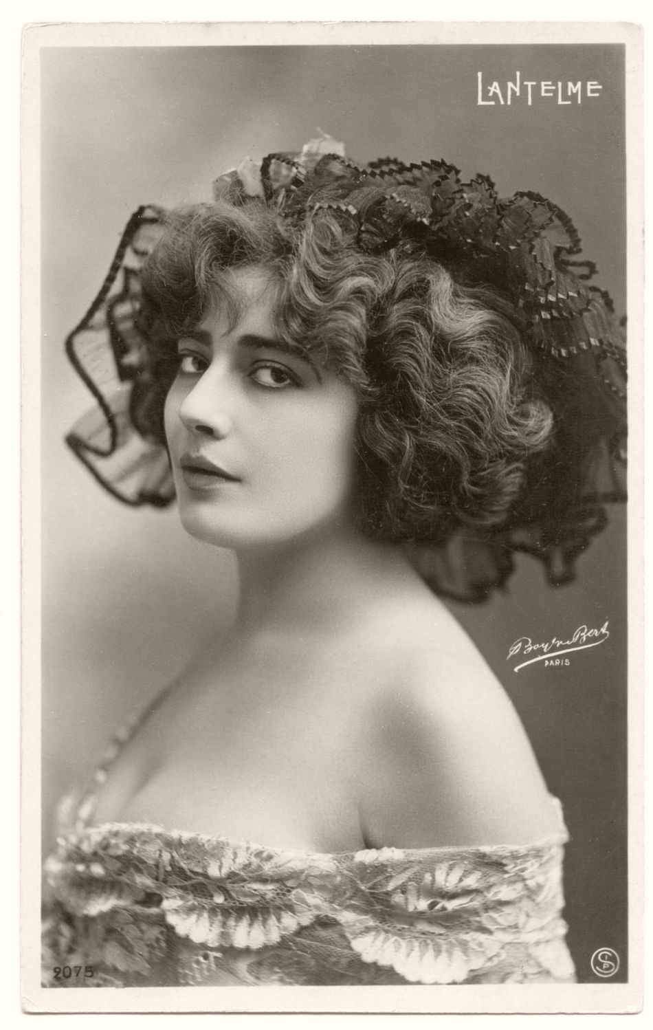 "Geneviève ""Ginette"" Lantelme (born Mathilde Hortense Claire Fossey, 1883) was a French stage actress, socialite, fashion icon, and courtesan. Considered by her contemporaries to be one of the most beautiful women of the Belle Epoque and bearing a resemblance to American actress Ethel Barrymore, she is remembered for the mysterious circumstances of her death: on the night of July 24/25, 1911, she fell from the yacht of her husband, Alfred Edwards."
