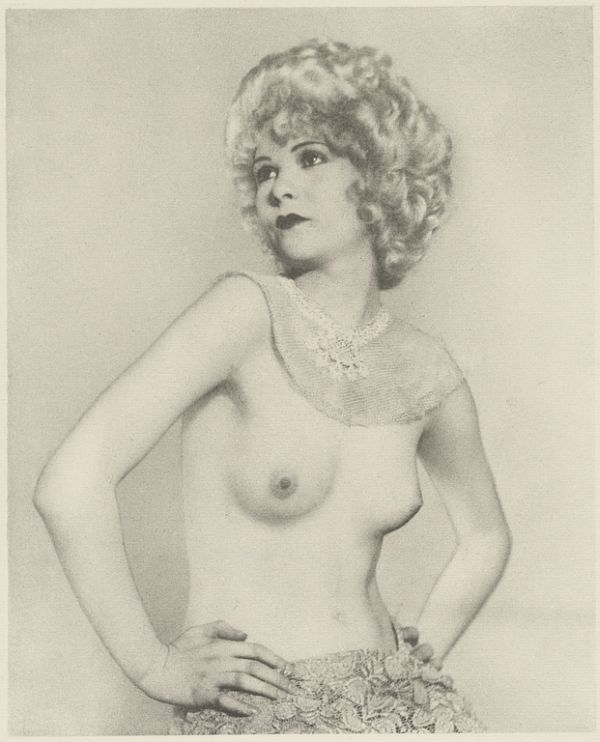 Partially Nude Female with Hands on Hips, 1920