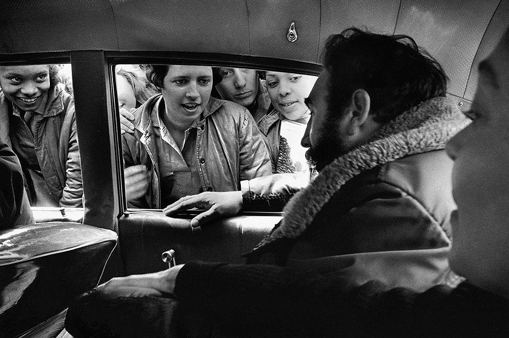 © CUBA by Elliott Erwitt, published by teNeues, www.teneues.com, Fidel Castro, Havana, 1964, Photo © 2017 Elliott Erwitt/Magnum Photos. All rights reserved.