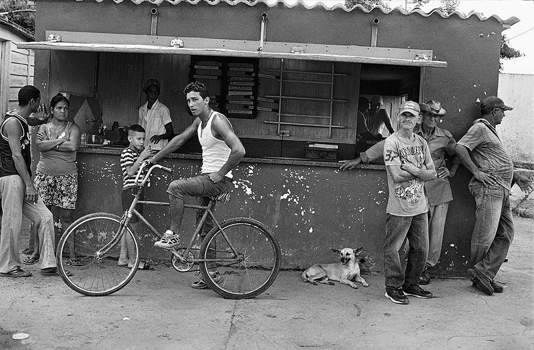 © CUBA by Elliott Erwitt, published by teNeues, www.teneues.com, Cafe, Road to Viñales, Pinar del Río, 2015, Photo © 2017 Elliott Erwitt/Magnum Photos. All rights reserved.