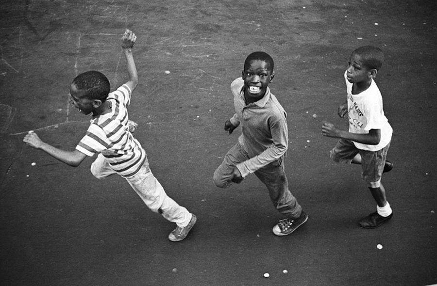 Chasing the Jazz Mobile, Harlem, New York City, July 1966