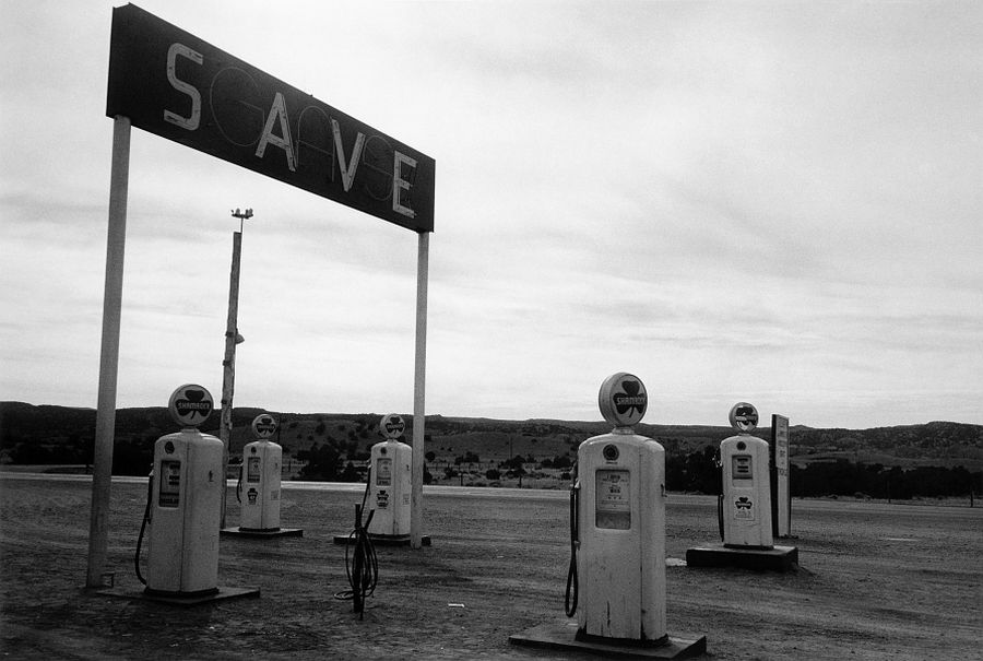 Robert Frank, Santa Fe - New Mexiico, from the book The Americans, © Robert Frank