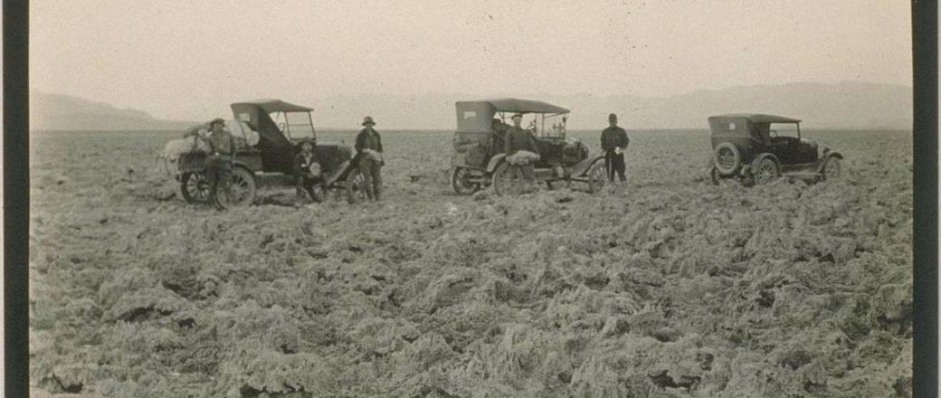 Vintage: Death Valley Road Trip in 1926