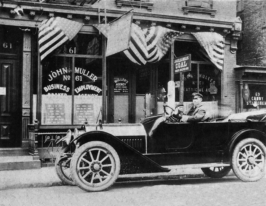 61 First St. in Hoboken, NJ, 1917