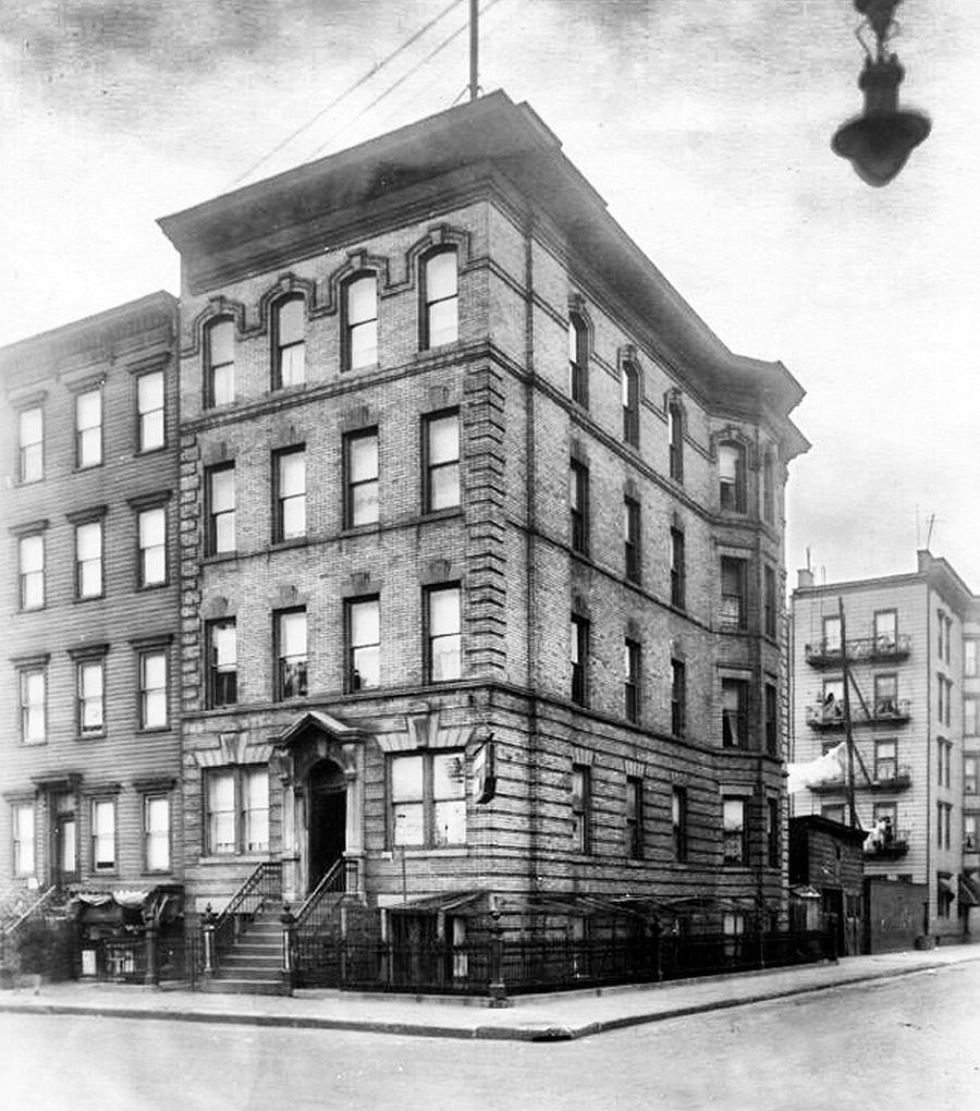 The building at 301 Monroe St. in Hoboken, NJ, ca. 1920s