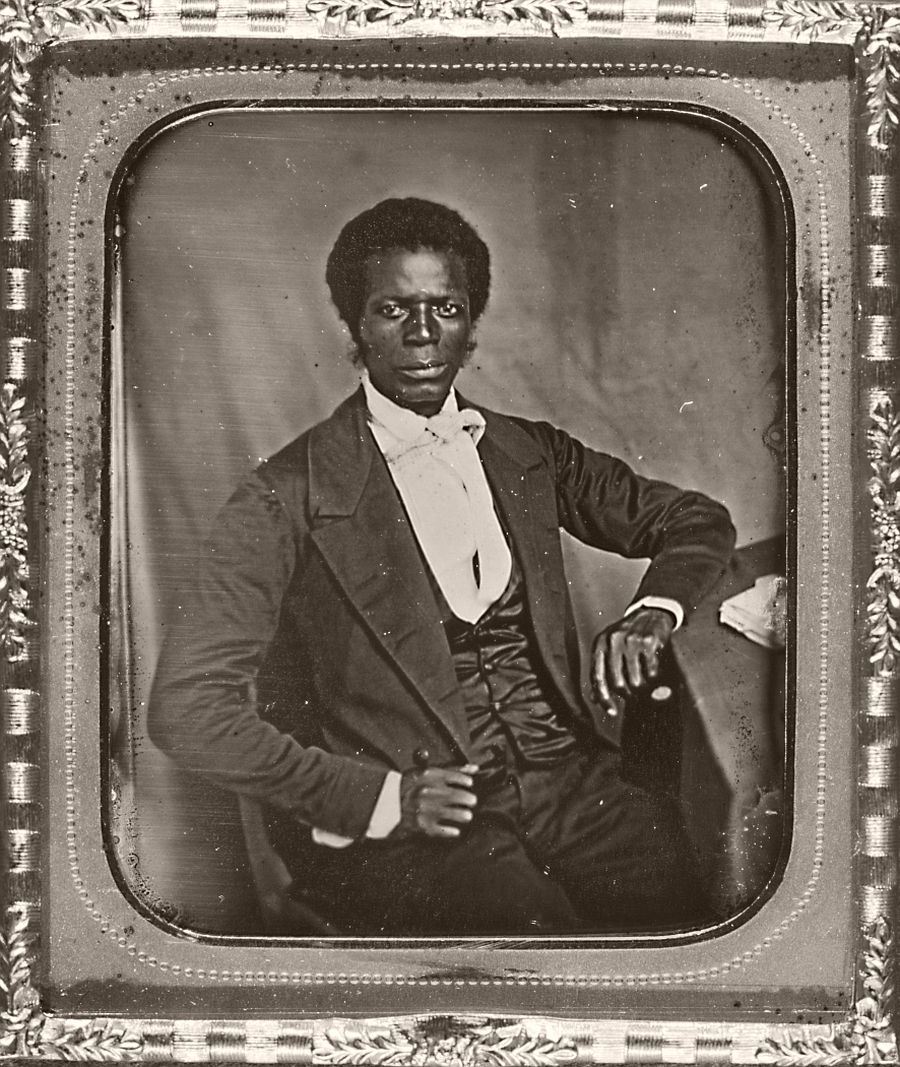 James Mux Priest, the first Presbyterian African American missionary sent to Liberia.