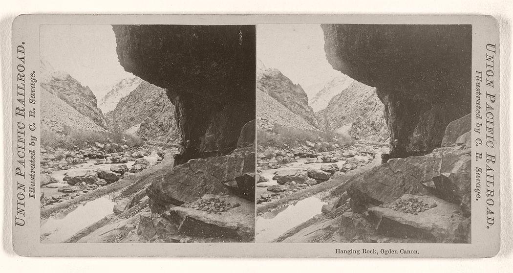 Hanging Rock, Ogden Canon.