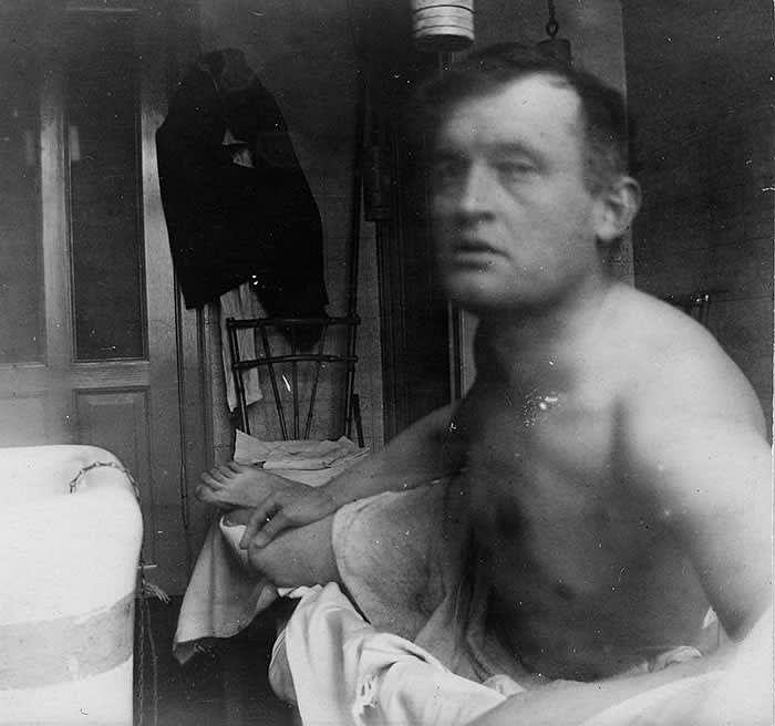 'Self-Portrait à la Marat' (1908-09) © Edvard Munch/Munch Museum