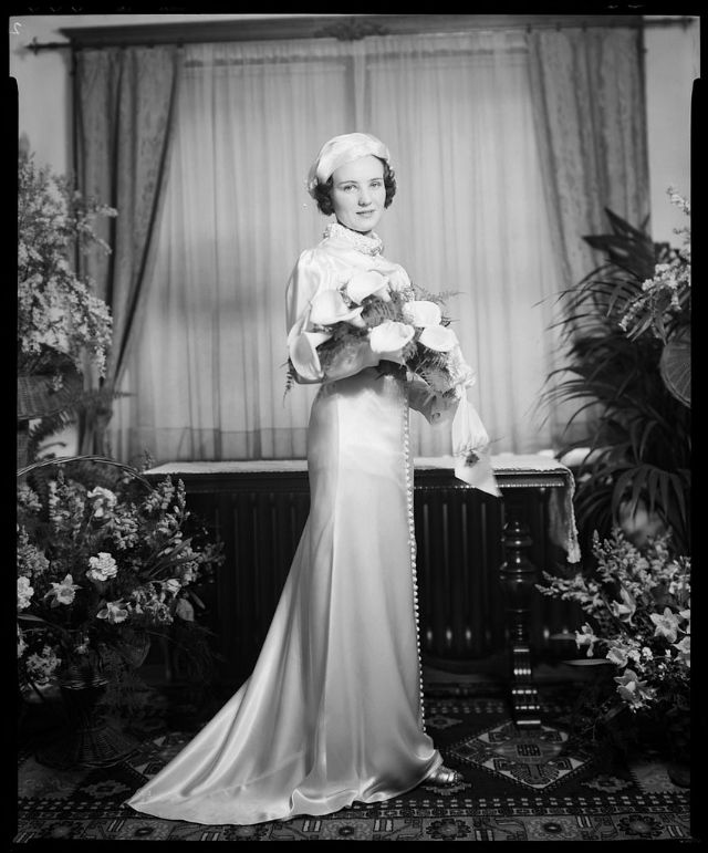 Vintage: Canadian Brides by Yousuf Karsh (1930s)