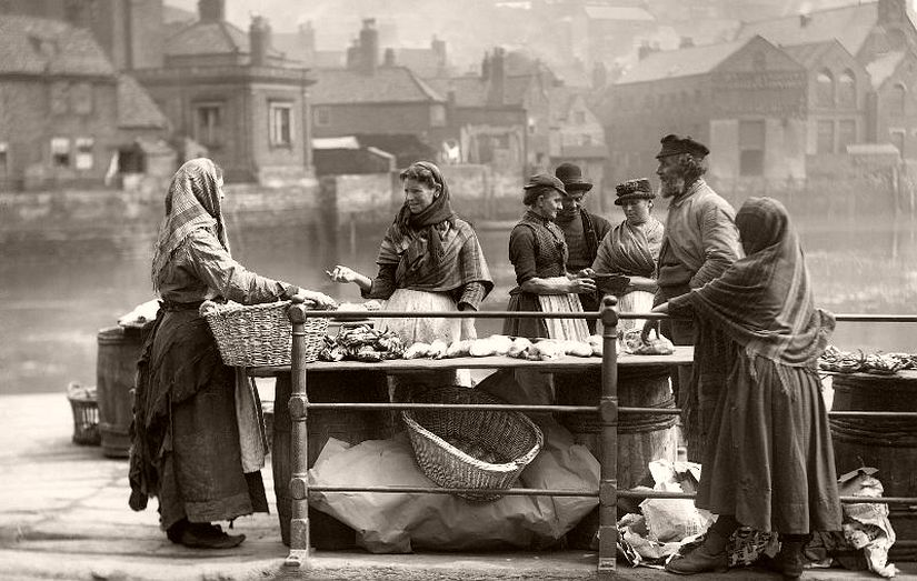 Fish stall, Whitby