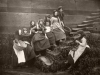 Vintage: Whitby, England in the Late Victorian Era by Francis Meadow Sutcliffe