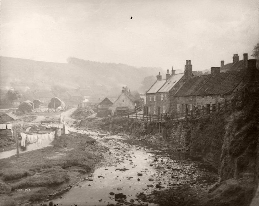 House by river banks in Whitby
