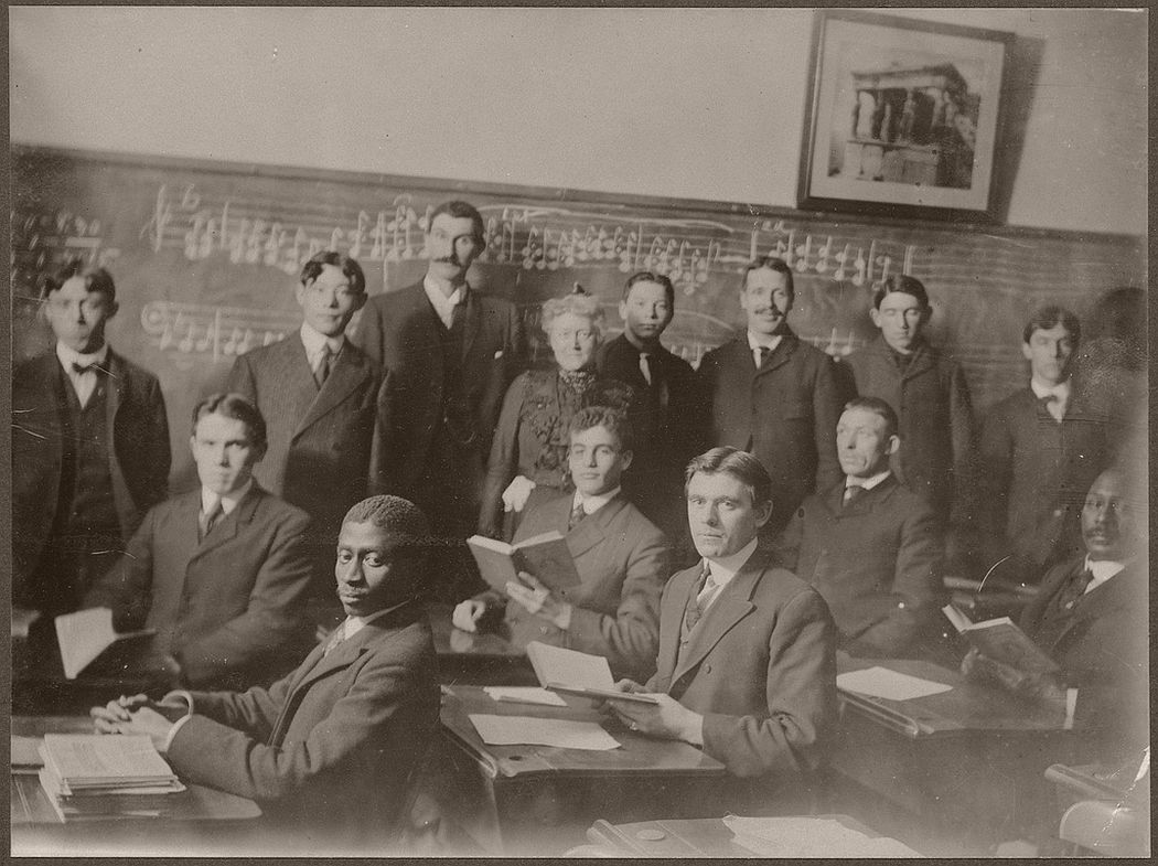 Students of a music class