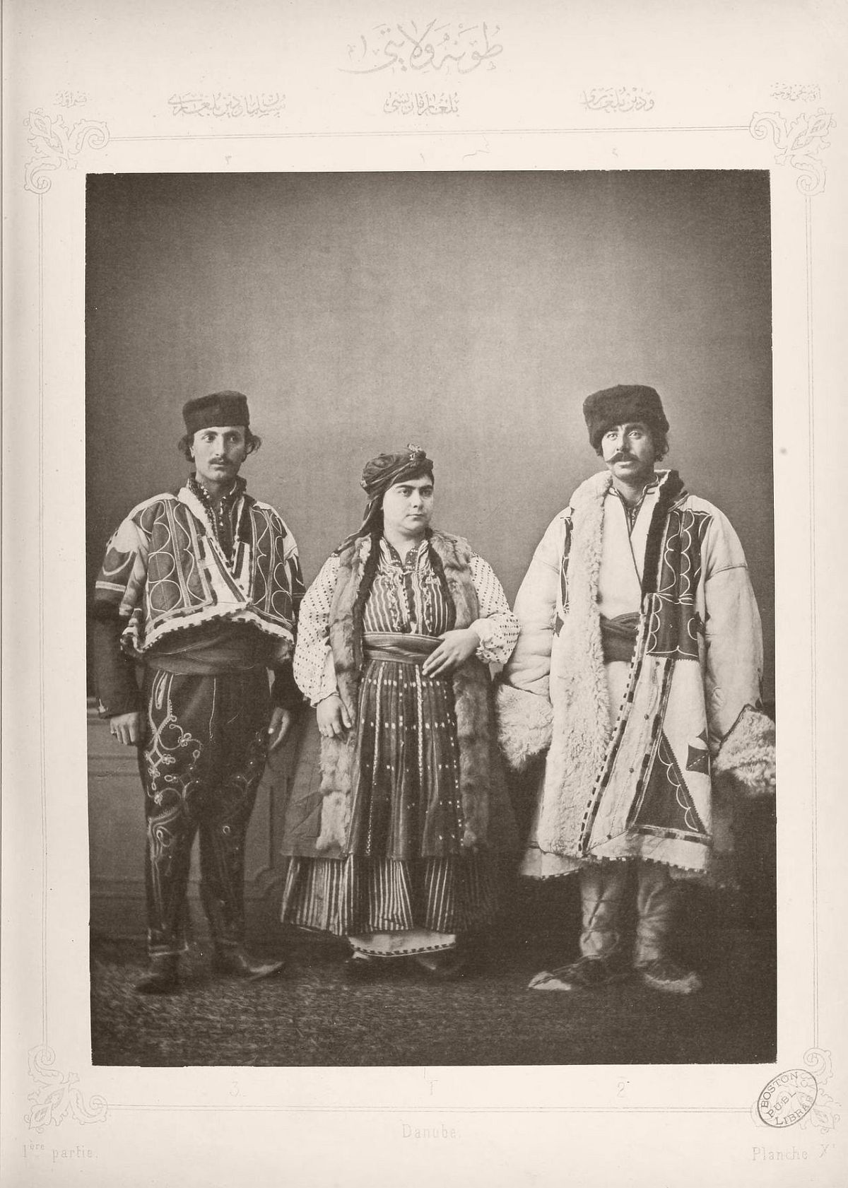 1: Bulgarian woman from Ruse 2. Christian Bulgarian from Vidin 3. Muslim Bulgarian from Vidin