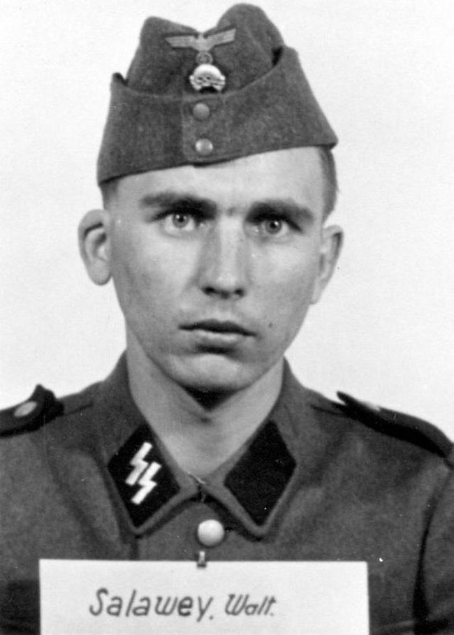 Walter Salawey, former farmer. Joined SS in 1941 and reached rank of Sturmmann (stormtrooper).