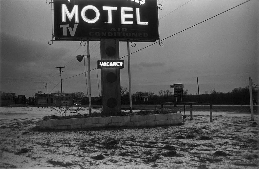William Eggleston: Black and White