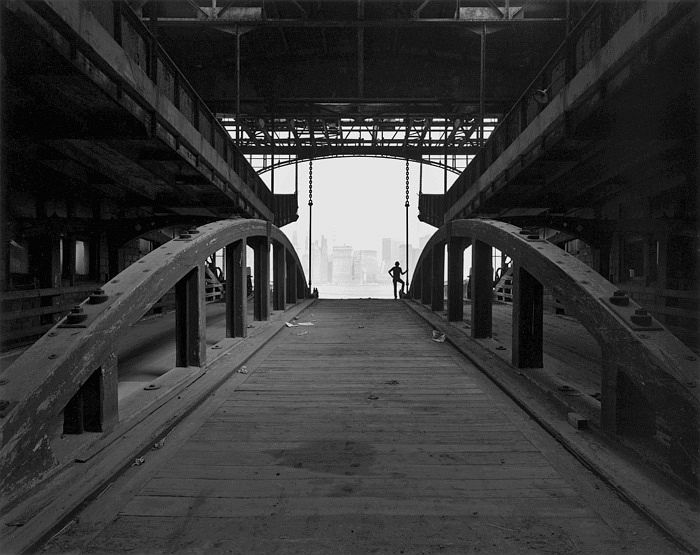 Ferry Slip, Jersey City, New Jersey, 1979