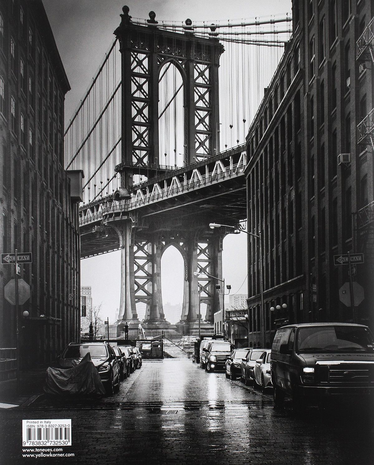 © New York by Serge Ramelli, published by teNeues, www.teneues.com. CLASSIC VIEW OF THE MANHATTAN BRIDGE IN BROOKLYN, Photo © 2015 Serge Ramelli and YellowKorner.