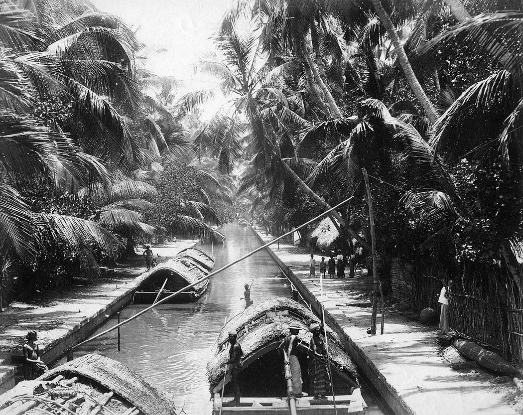 Negumbo Canal, Ceylon, ca. 1880s