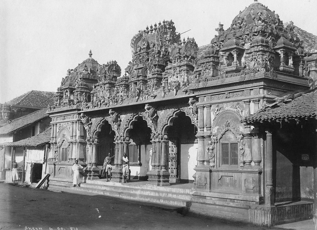 Brahma Temple, Colombo, Ceylon, ca. 1880s