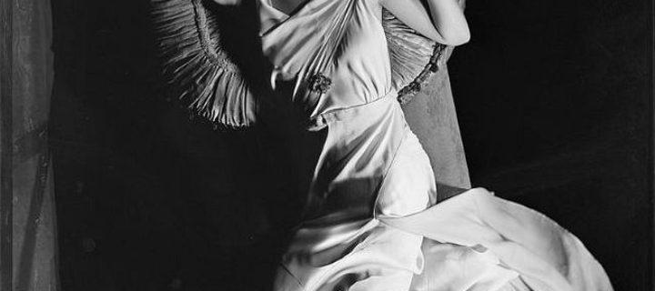 Vintage: Glass Plate Negatives of Carole Lombard (1930s)