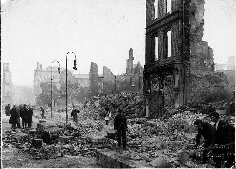 The Burning of Cork, 14 December 1920