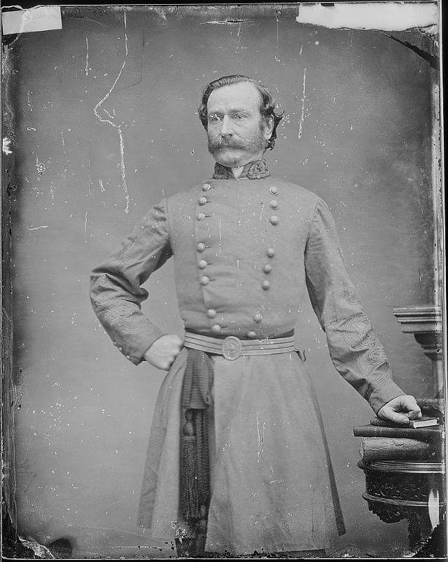 General Mansfield Lovell (1822-1884)