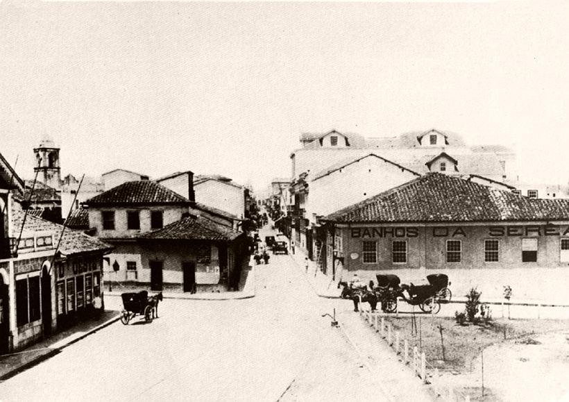 São Bento street, 1862