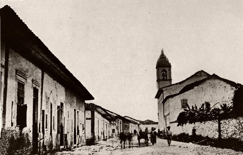 Constituicão street, 1962