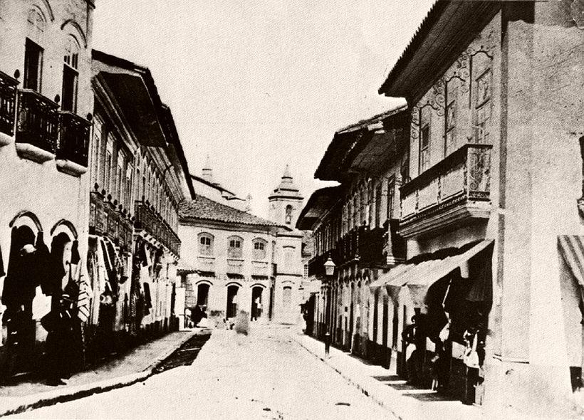 Direita street, 1862