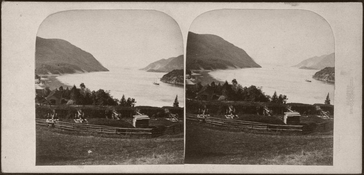 Seige Battery, West Point, 1864-1866.