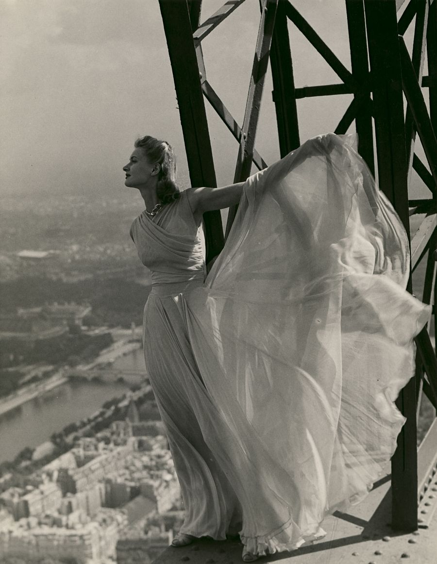 Erwin Blumenfeld, Vogue Paris, Eiffel Tower, May 1939