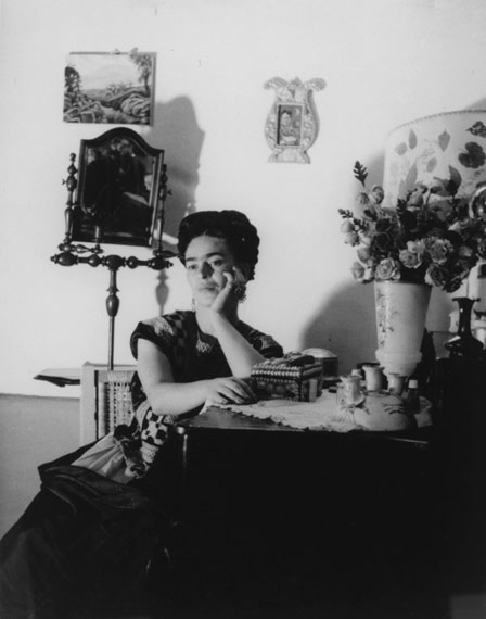 Lola Álvarez Bravo, Frida Kahlo, Ciudad de México, México, 1950 Courtesy of the Fondo Fundación Televisa Collection.