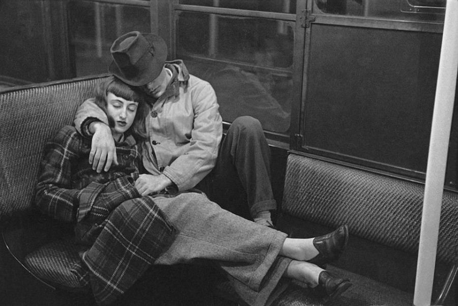 """Life and Love on the New York City Subway,"" 1947. Credit: Museum of the City of New York"