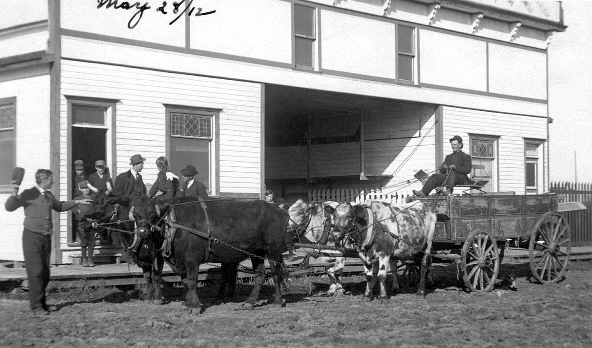 Nokomis, Saskatchewan, May 28, 1912