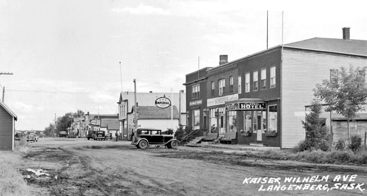 Kaiser Wilhelm Ave., Langenberg, Saskatchewan